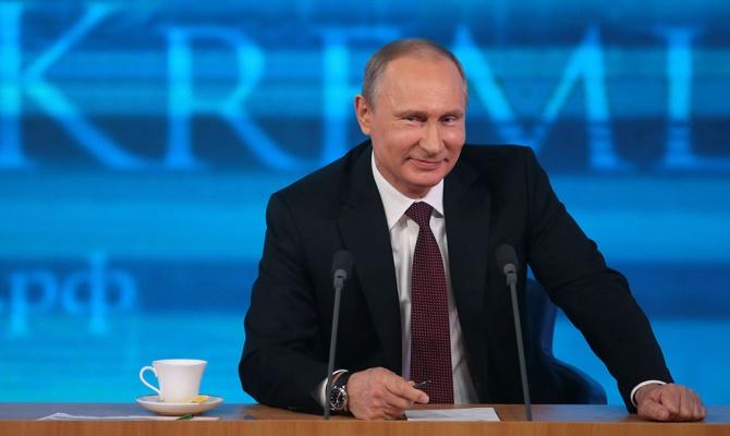 Путин объявил онамерении участвовать ввыборах президента в 2018