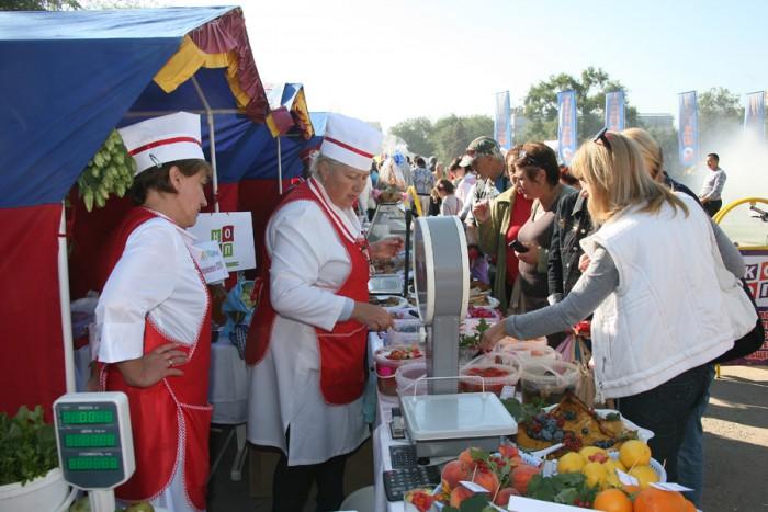 В 3-х  районах Ростова пройдут ярмарки выходного дня