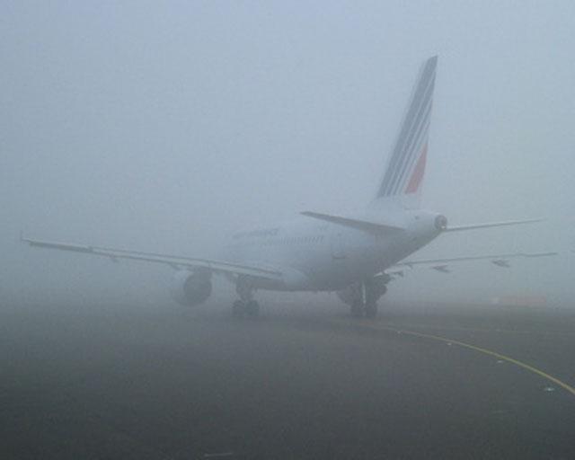 Туман задержал прибытие нескольких рейсов вростовский аэропорт