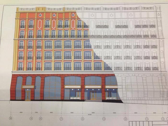 """Проект здания, которое появится на месте студии кинохроники // Фото: """"МедиаС"""""""