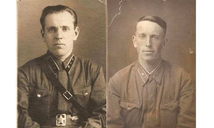 Зиновий и Вениамин Волнушкины (слева - направо) // Фото из личного архива Марины Китаевой