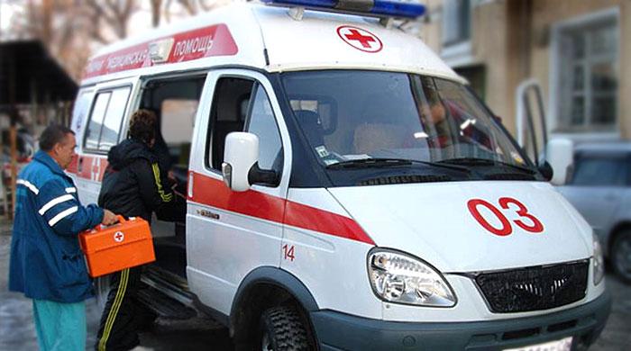 ВРостове маршрутка спассажирами врезалась в грузовой автомобиль