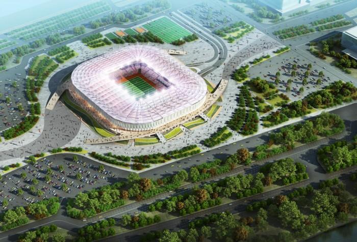 Стадион «Ростов-Арена» готов на75%