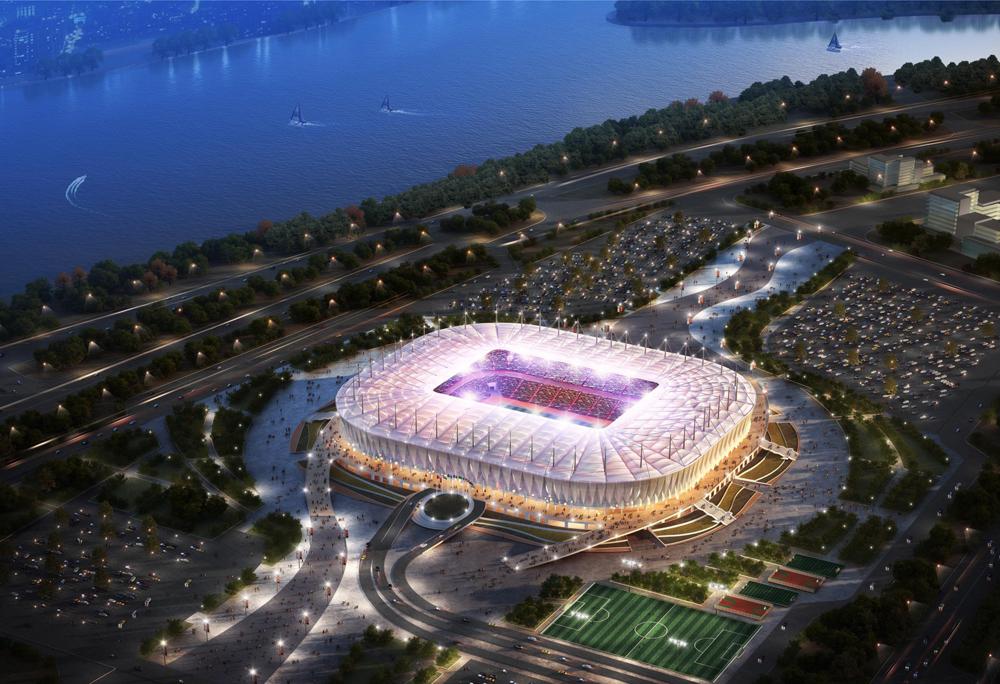 «Ростов-Арена» готов на85%