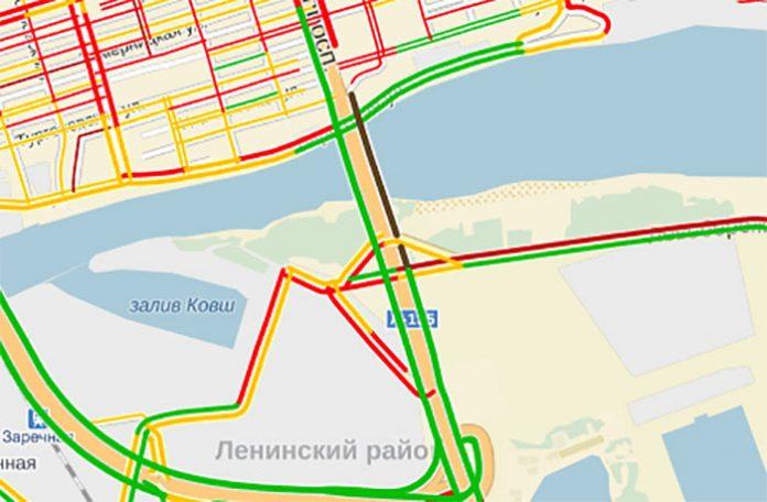 Схема движения ворошиловский мост