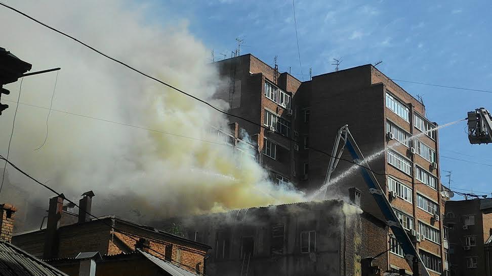 Пожар станиславского фото ростов