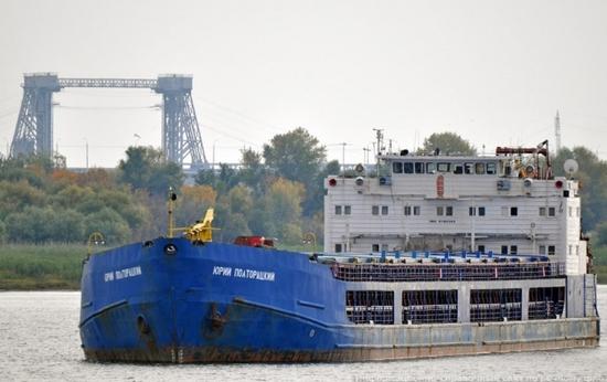 В ростовском порту бастует экипаж судна «Юрий Полторацкий»