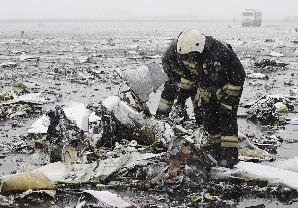 Маркин: расследование дела окрушении Boeing вРостове-на-Дону заканчивается