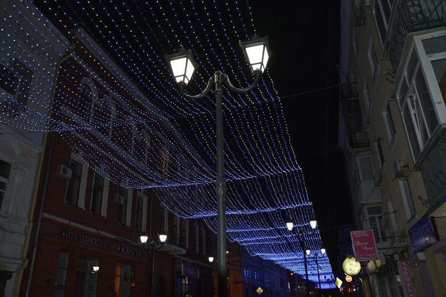 Пятьсот светодиодных светильников появится на дорогах Ростова