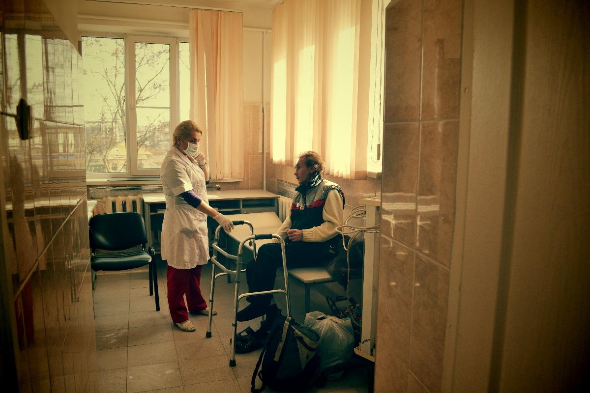В отделение на Амбулаторной принимают нового постояльца // фото: Виктория Некрасова