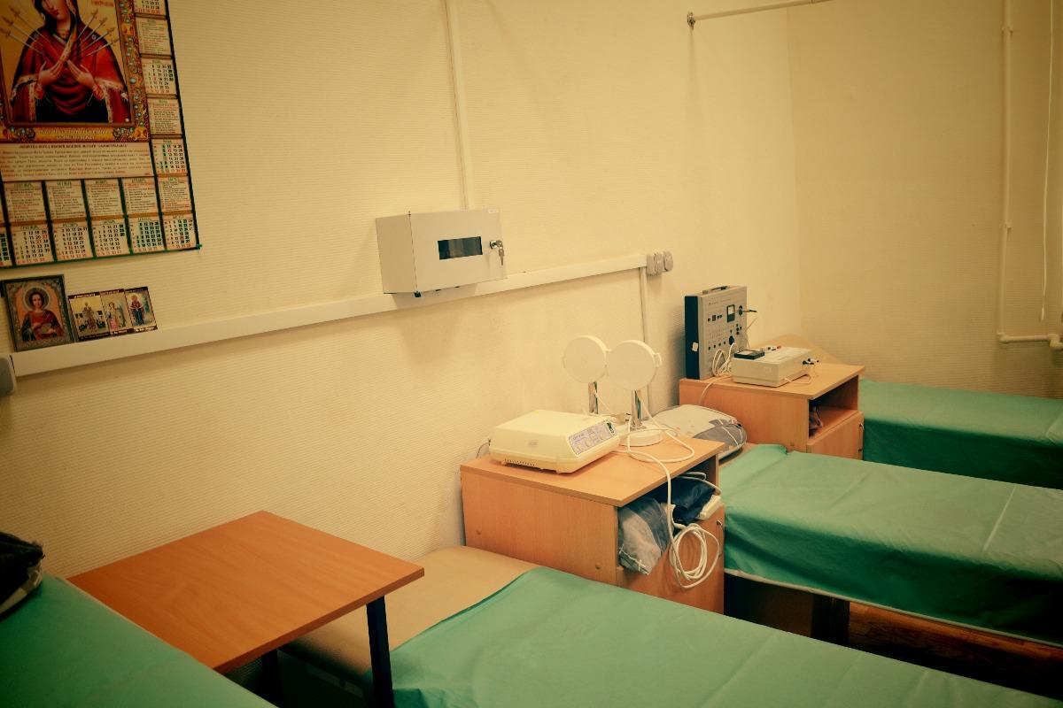 Медицинское оборудование в отделении на Амбулаторной // фото: Виктория Некрасова
