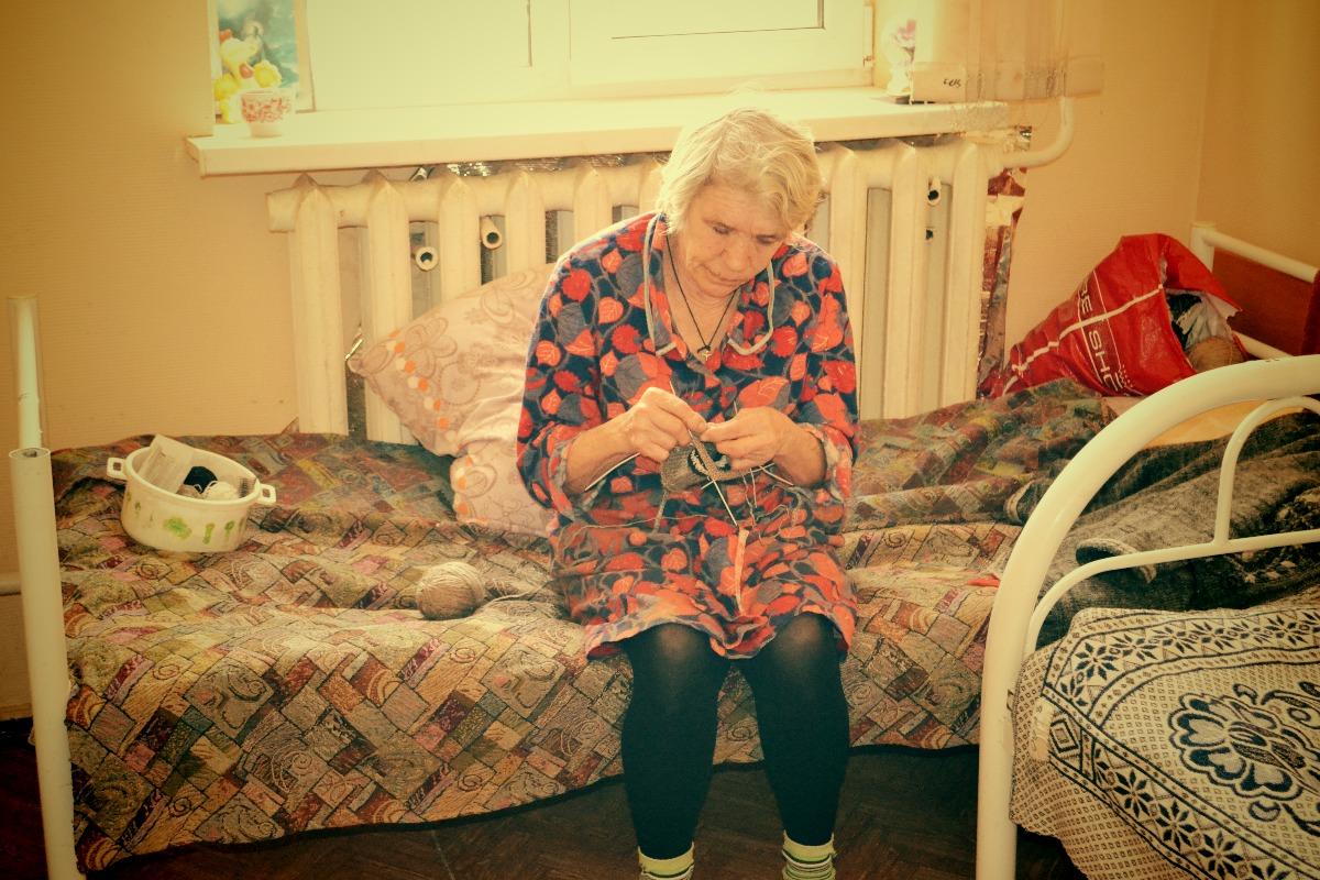 Одна из клиенток центра // фото: Виктория Некрасова