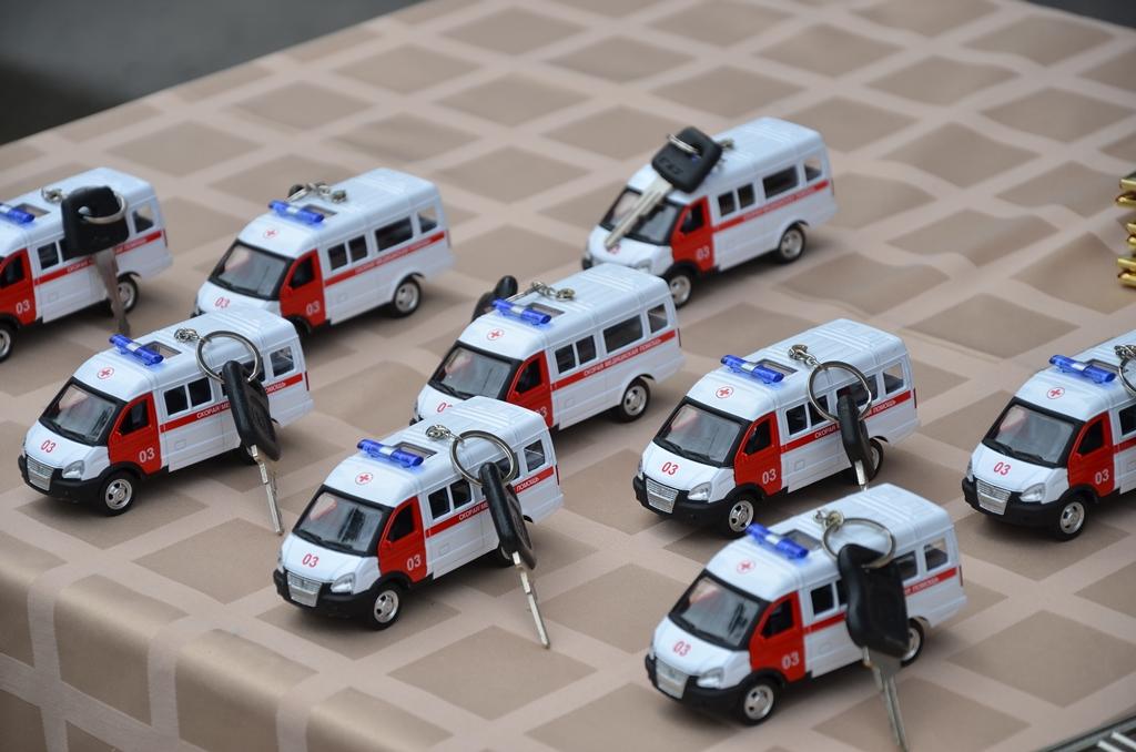 ВРостовскую область поступили 24 новые машины скорой помощи