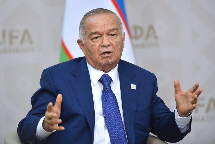 Ислам Каримов // фото с сайта sco-russia.ru