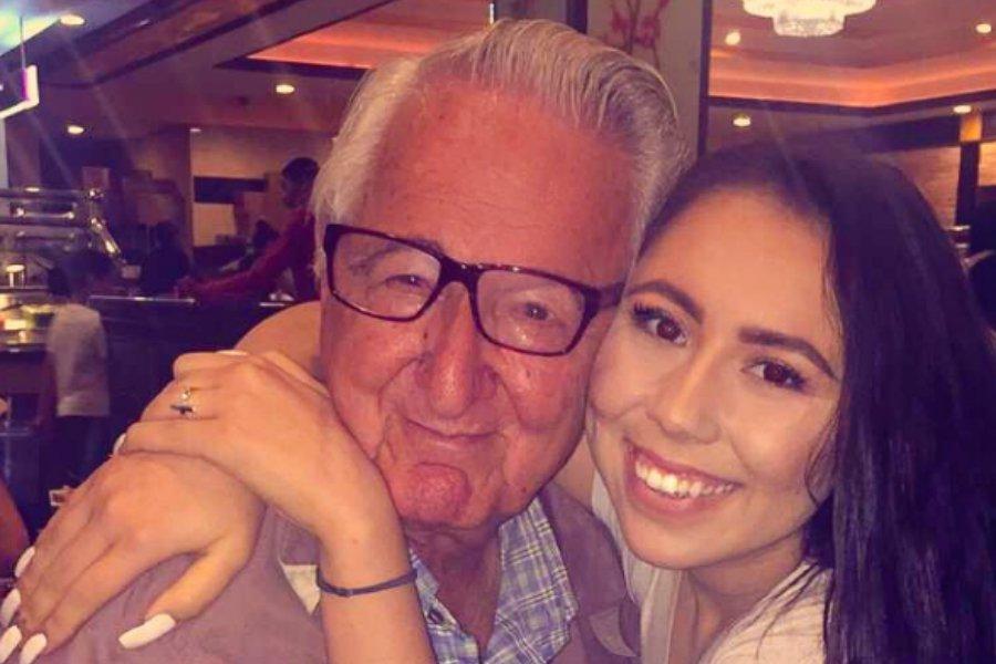 ВСША дедушка иего 18-летняя внучка поступили водин колледж
