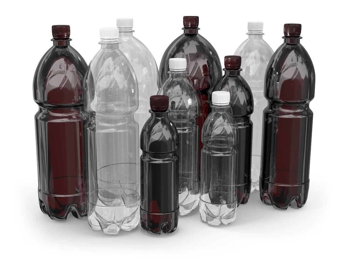 Пластиковая бутылка попала в кадр