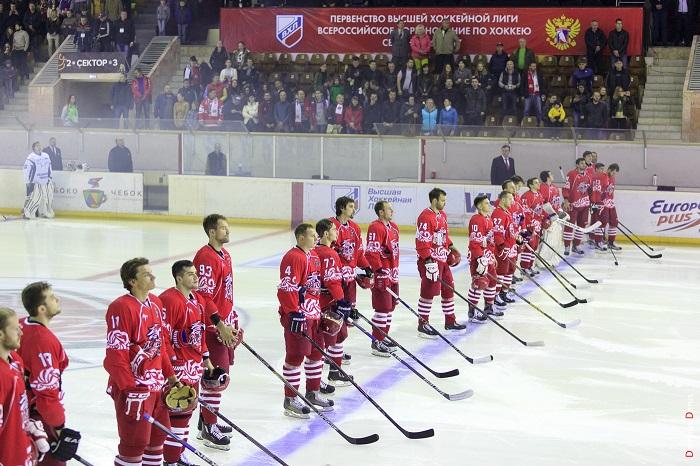 Хоккейный клуб «Ростов» обыграл самарский ЦСК ВВС