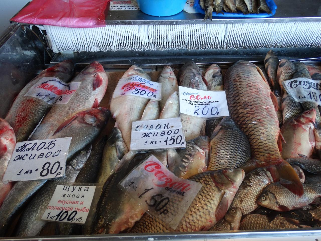 Вьетнамцы, у которых творчество в крови, раскладывают свежую рыбу на прилавки очень креативно