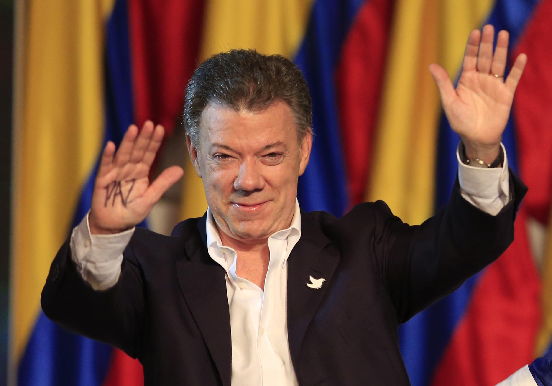 Президент Колумбии поражен тем, что получил Нобелевскую премию