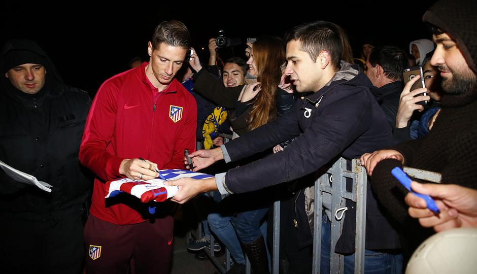 «Атлетико Мадрид» прибыл вРостов-на-Дону
