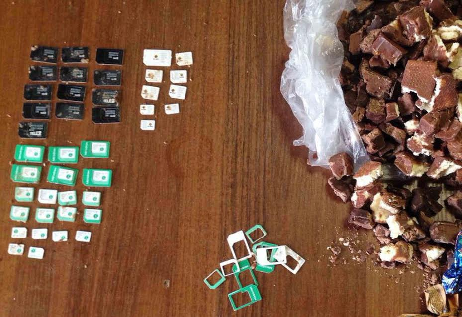 ВНовочеркасске заключённым пытались передать конфеты ссим-картами