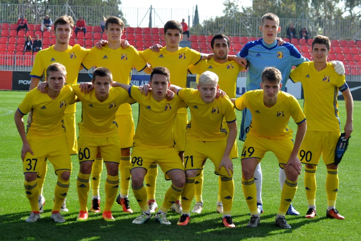 Молодежка «Ростова» проиграла «Атлетико» сминимальным счетом