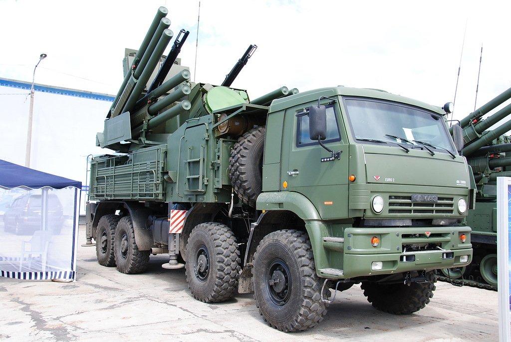 Зенитный ракетно-артиллерийский дивизион «Панцирь-С» создадут вЮВО