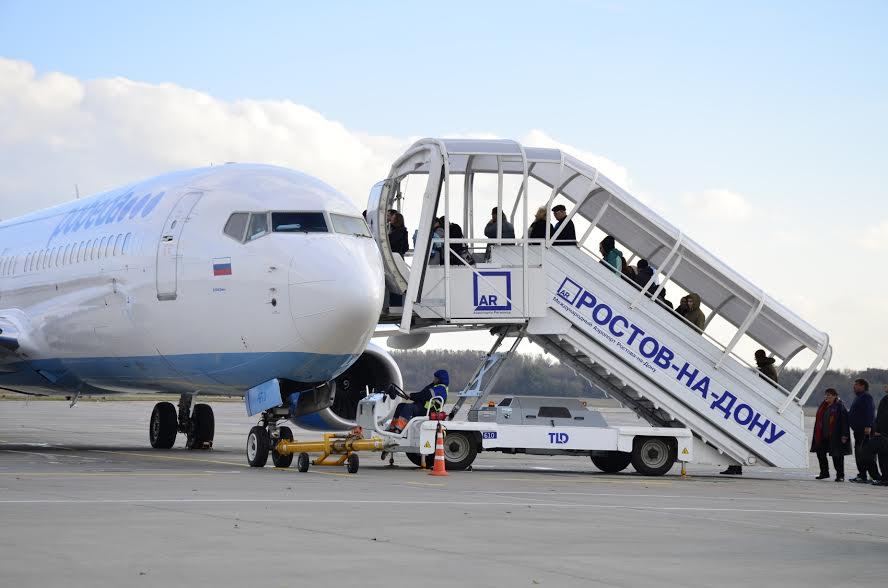 Ростовский аэропорт сохранил пассажиропоток науровне 2014 года