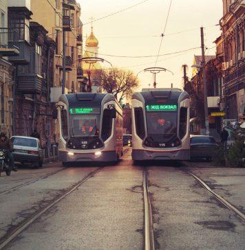Трамваи в Ростове-на-Дону //Фото: Денис Демков