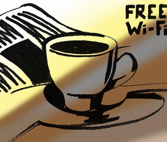 Бесплатный Wi Fi //Рисунок пользователя k a r as i k с flikr.com
