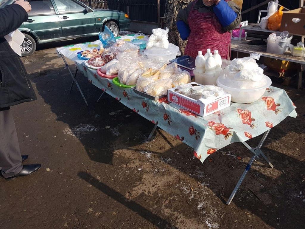 21кг молочной и23кг мясной продукции уничтожили вРостове