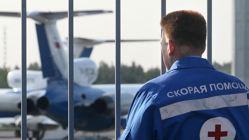 Ваэропорту Ростова из-за смерти старый пассажирки экстренно приземлился самолет Москва-Симферополь