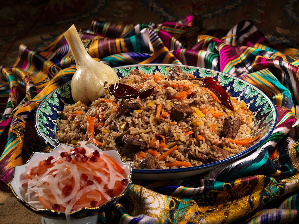 Узбекская кухня в картинках