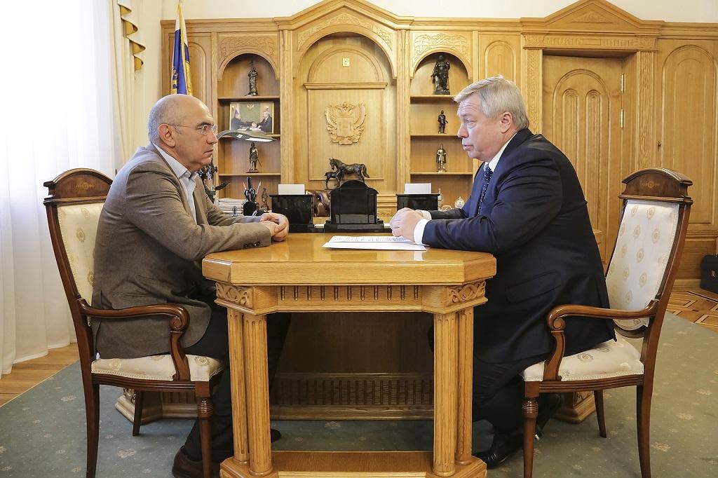 Губернатор Ростовской области встретился сБердыевым