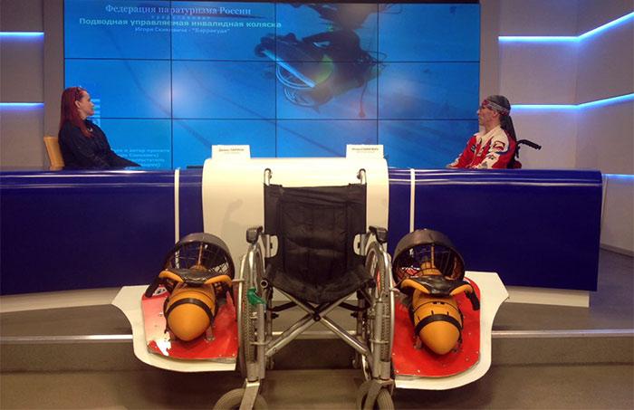Донской изобретатель подводной коляски номинирован нанацпремию