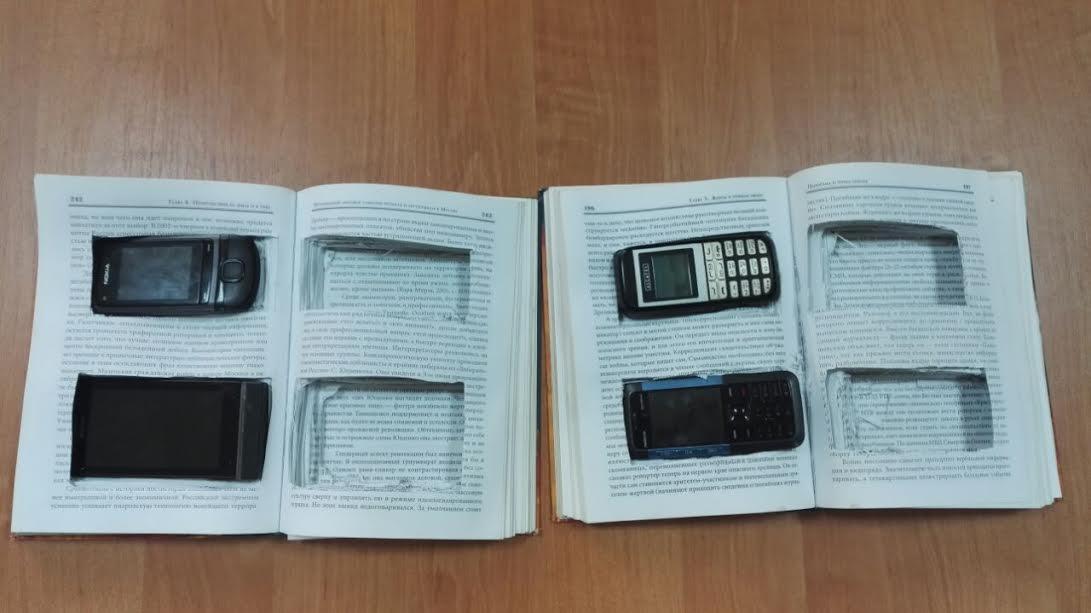 «Мобильные» книги пытались передать заключенному вРостовской области