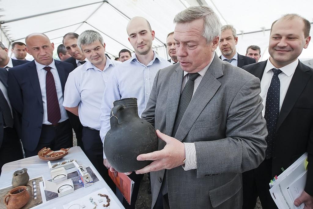 Археологические находки измогильника наСтаниславского будут демонстрировать прямо наулицах