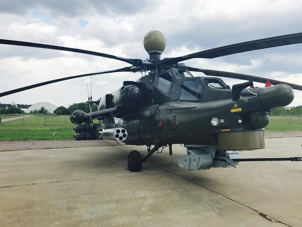 Вертолет Ми-28НЭ впервый раз задействуют влетной программе МАКС