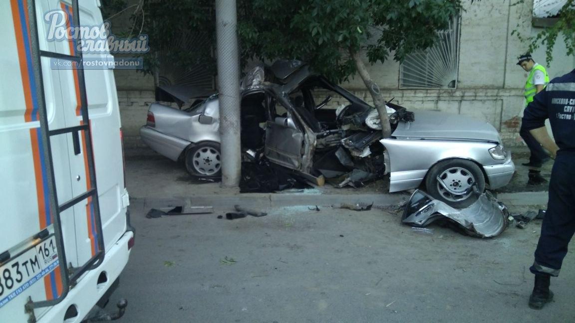 Нетрезвый шофёр устроил вцентре Ростова смертельное ДТП