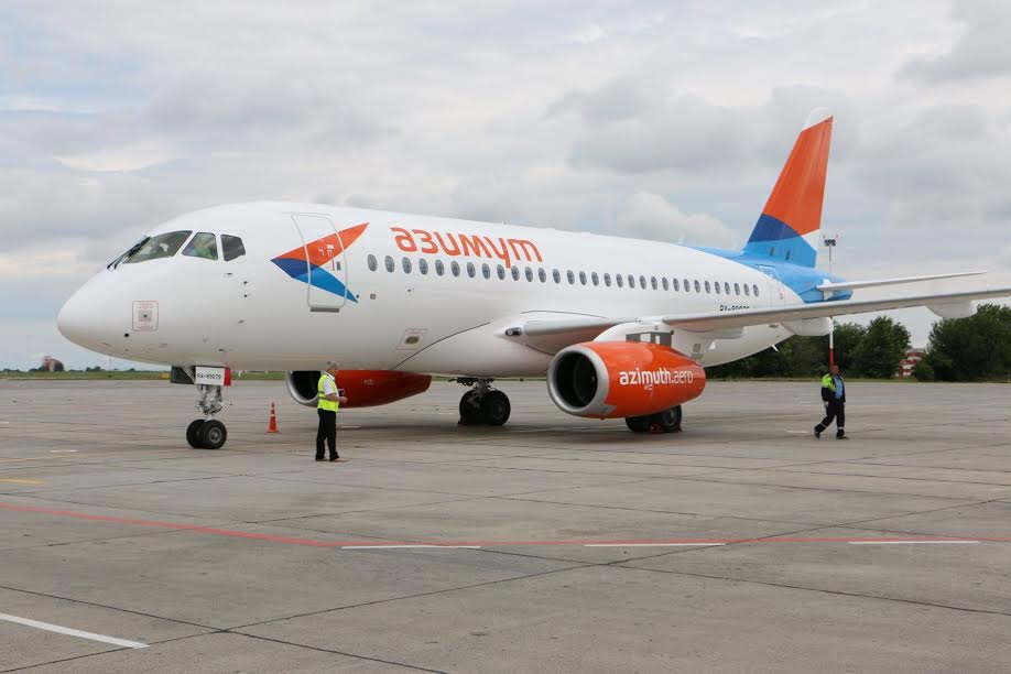 Авиакомпания Азимут начала полеты изКраснодара вОмск