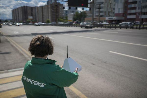 Специалисты Гринпис проведут исследования качества воздуха вРостове