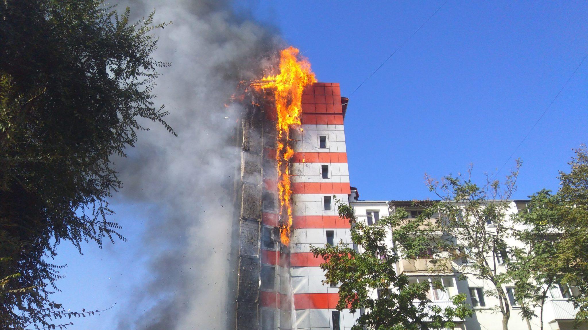 Пожар вРостове-на-Дону потушили