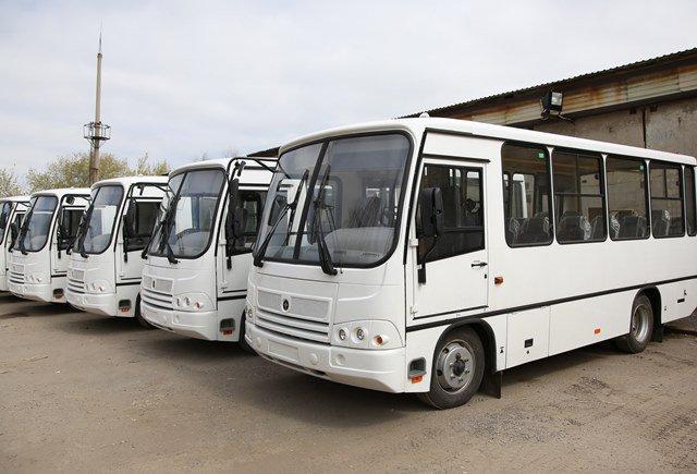 Для ростовчан купят 20 белых автобусов скондиционерами