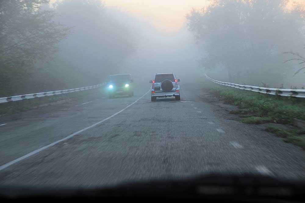 Донские автоинспекторы просят водителей быть осторожнее из-за тумана