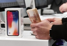 Первый день продажи новых iPhone X