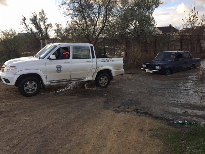 ВАзовском районе cотрудники экстренных служб оказали помощь пятерым рабочим