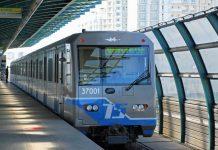 Поезд на станции Бутовской линии московского метро //Фото с сайта sdelanounas.ru