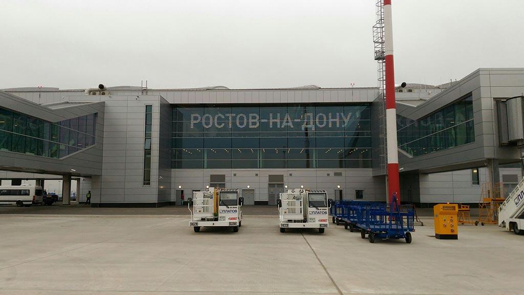 Перрон аэропорта Платов //Фото: Игорь Негодаев, Ростов- Транспорт
