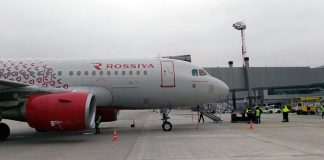 Самолет Airbus a320 на перроне аэропорта Платов //Фото: Игорь Негодаев