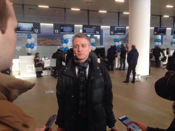 Вновом аэропорту Платов зарегистрировали первого пассажира